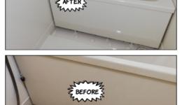 杁中駅 賃貸マンション浴室丸ごと再生塗装
