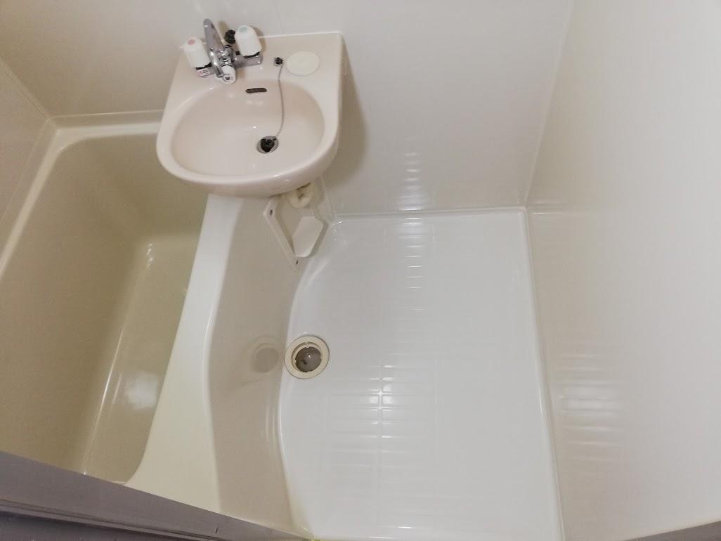 交換必要なし賃貸物件再生塗装工事浴室